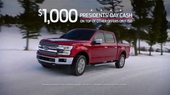 Ford Great American Sales Event TV Spot, 'Presidents Day: F-150' [T2] - Thumbnail 4