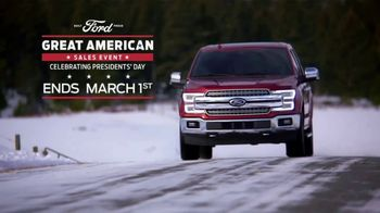 Ford Great American Sales Event TV Spot, 'Presidents Day: F-150' [T2] - Thumbnail 7
