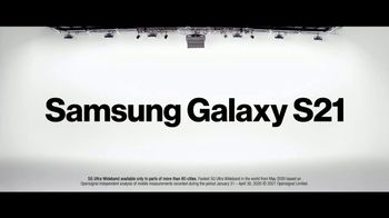 Verizon TV Spot, 'The Next, Next Level: Disney+, Discovery+ and Samsung Galaxy S21+ 5G'