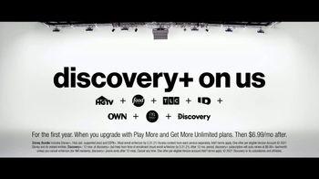 Verizon TV Spot, 'The Next, Next Level: Disney+, Discovery+ and Samsung Galaxy S21+ 5G' - Thumbnail 9