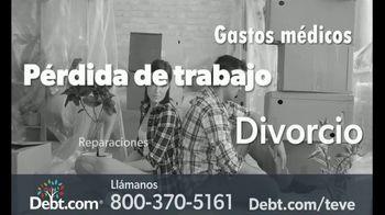 Debt.com TV Spot, 'Gastos inesperados' [Spanish]