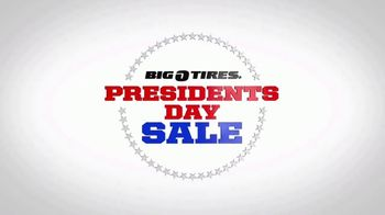Big O Tires Presidents Day Sale TV Spot, 'One Week Only: Michelin Tires and Free Installation'