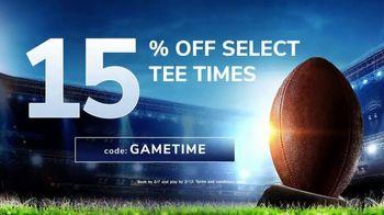 GolfNow.com TV Spot, 'Before the Big Game: 15% Off'