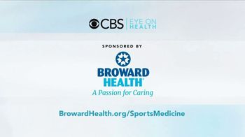 Broward Health TV Spot, 'CBS Eye on Health: Sports Medicine' - Thumbnail 10