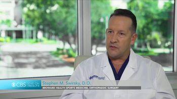 Broward Health TV Spot, 'CBS Eye on Health: Sports Medicine' - Thumbnail 2
