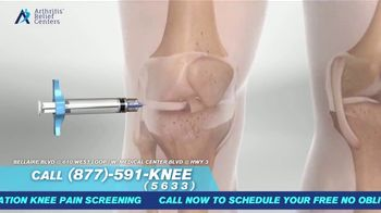Arthritis Relief Centers TV Spot, 'Slowing You Down' - Thumbnail 5