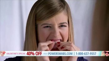 Power Swabs Valentine's Special TV Spot, 'Clinically Studied' - Thumbnail 1