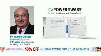 Power Swabs Valentine's Special TV Spot, 'Clinically Studied' - Thumbnail 2