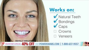 Power Swabs Valentine's Special TV Spot, 'Clinically Studied' - Thumbnail 3