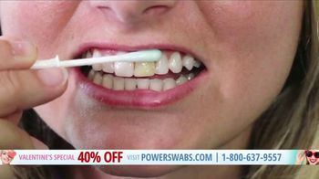 Power Swabs Valentine's Special TV Spot, 'Clinically Studied' - Thumbnail 4