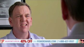 Power Swabs Valentine's Special TV Spot, 'Clinically Studied' - Thumbnail 5