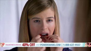Power Swabs Valentine's Special TV Spot, 'Clinically Studied' - Thumbnail 6