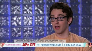 Power Swabs Valentine's Special TV Spot, 'Clinically Studied' - Thumbnail 7