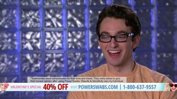 Power Swabs Valentine's Special TV Spot, 'Clinically Studied' - Thumbnail 8