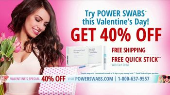 Power Swabs Valentine's Special TV Spot, 'Clinically Studied' - Thumbnail 9