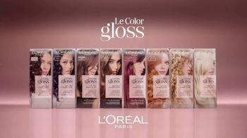 L'Oreal Paris Le Color Gloss TV Spot, 'Matiza el color' con Katherine Langford [Spanish] - Thumbnail 2