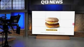 McDonald's Sausage McMuffin with Egg TV Spot, 'FOX 13: The Overnight Shift is Over Meal' - Thumbnail 8