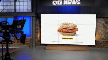 McDonald's Sausage McMuffin with Egg TV Spot, 'FOX 13: The Overnight Shift is Over Meal' - Thumbnail 9