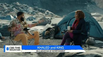 Paramount+ TV Spot, 'Khaled and King On a Mountain of Entertainment' Featuring Gayle King, DJ Khaled
