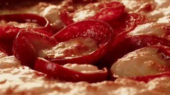 Pizza Hut Detroit Style Pizza TV Spot, 'Double Pepperoni' - 895 commercial airings