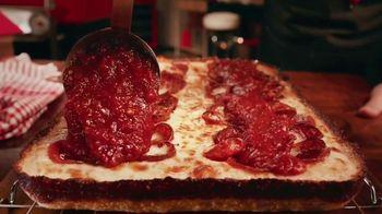 Pizza Hut Detroit Style Pizza TV Spot, 'Tomato Sauce' - 2520 commercial airings