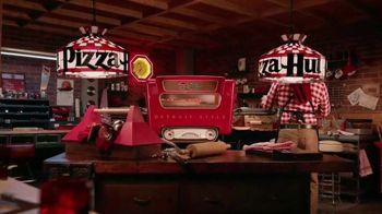 Pizza Hut Detroit Style Pizza TV Spot, 'Tomato Sauce' - Thumbnail 1