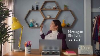 Etsy TV Spot, 'Meant For You: Wall Decor, Vase, Canisters' - Thumbnail 3