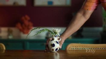 Etsy TV Spot, 'Meant For You: Wall Decor, Vase, Canisters' - Thumbnail 5