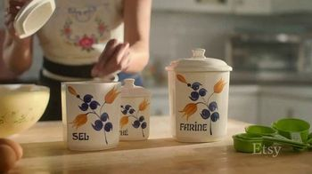 Etsy TV Spot, 'Meant For You: Wall Decor, Vase, Canisters' - Thumbnail 7