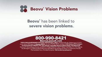 Sokolove Law TV Spot, 'Beovu Vision Problems'