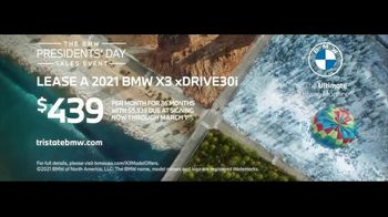 BMW Presidents Day Sales Event TV Spot, 'There's an X for That' Song by NOISY [T2] - Thumbnail 9