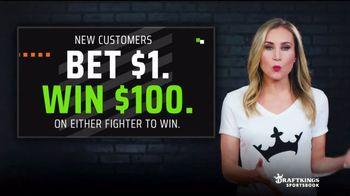 DraftKings Sportsbook TV Spot, 'Winning Fighter: Bet $1, Win $100' - Thumbnail 4