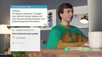 Grammarly Business TV Spot, 'Customer Support: Carl' - Thumbnail 7