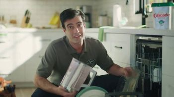 Cascade Platinum TV Spot, '50% More Cleaning Power'