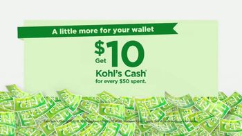 Kohl's Daily Wow Deals TV Spot, 'A Little More for Your Wallet' - Thumbnail 1