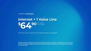 Comcast Business SecurityEdge TV Spot, 'Made Simple: Internet and Voice for  $64.90' - Thumbnail 9