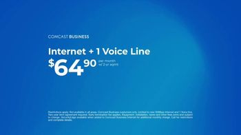 Comcast Business SecurityEdge TV Spot, 'Made Simple: Internet and Voice for  $64.90' - Thumbnail 8