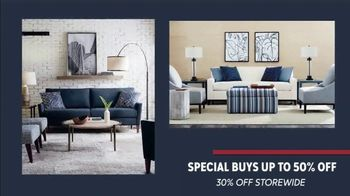 Bassett Presidents Day Sale TV Spot, 'Special Buys: Sofa, Bed and Dining Table'