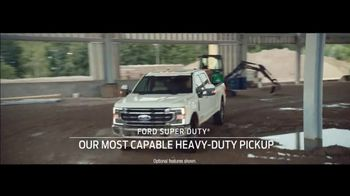 Ford TV Spot, 'Because of This: Trucks' [T2] - 20 commercial airings