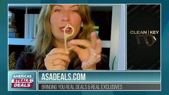 America's Steals & Deals TV Spot, 'KeySmart CleanKey' Featuring Genevieve Gorder - Thumbnail 2