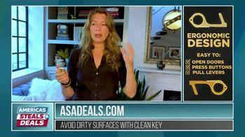 America's Steals & Deals TV Spot, 'KeySmart CleanKey' Featuring Genevieve Gorder - Thumbnail 3