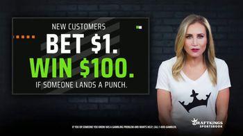 DraftKings Sportsbook TV Spot, 'Land a Punch: Bet $1, Win $100' - Thumbnail 3