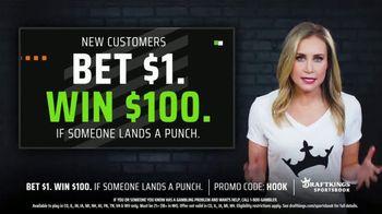 DraftKings Sportsbook TV Spot, 'Land a Punch: Bet $1, Win $100' - Thumbnail 4