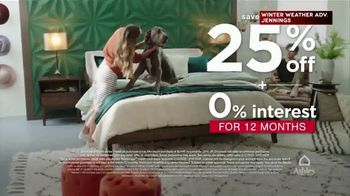Ashley HomeStore Presidents Day Weekend Sale TV Spot, '25% Off and 0% Interest' - Thumbnail 2