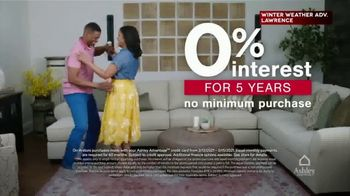 Ashley HomeStore Presidents Day Weekend Sale TV Spot, '25% Off and 0% Interest' - Thumbnail 4