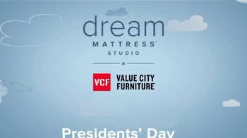 Value City Furniture Presidents Day Sale TV Spot, '20% Off Dream and Beautyrest mattresses' - Thumbnail 9