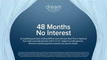Value City Furniture Presidents Day Sale TV Spot, '20% Off Dream and Beautyrest mattresses' - Thumbnail 7