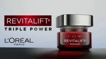 L'Oreal Paris Revitalift Triple Power Moisturizer TV Spot, 'Don't Settle: Serum' Featuring Eva Longoria - Thumbnail 3