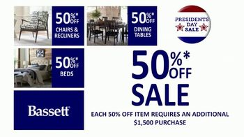 Bassett Presidents Day Sale TV Spot, 'Storewide: 30% Off' - Thumbnail 3