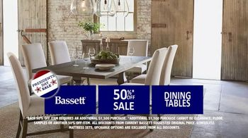 Bassett Presidents Day Sale TV Spot, 'Storewide: 30% Off' - Thumbnail 4